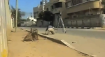 Journalists Shot at in Gaza- Video from Al Jazeera